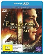Percy Jackson - Sea Of Monsters 3D  (Blu-ray, 2-Disc Set) Brand new & sealed