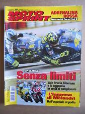 MOTOSPRINT n°26  2004 [Q77] Test DUCATI 749 R HUSQVARNA 510