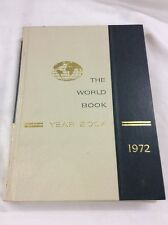 World Book Encyclopedia 1972 Yearbook - Review of Events in 1971 Birthday Gift
