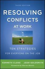 NEW - Resolving Conflicts at Work: Ten Strategies for Everyone on the Job