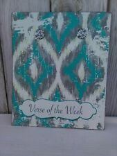 Verse Of The Week Magnetic Metal Board Turquoise Hobby Lobby Home Bible Wall