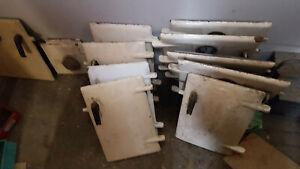 rayburn no 1,2,3 left hand oven fire fuelling door - only left versions!