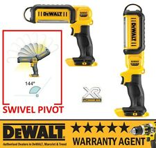 Dewalt DCL050N LED Light Torch XR Pivot Head Cordless BARE UNIT 18v DCL050 NEW