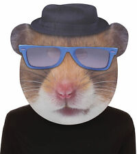 Hip Hop Hamster Blues Glasses Adult Mask Giant Foamboard Halloween