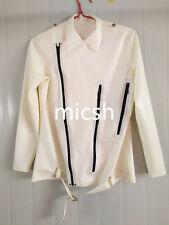 100%Latex Rubber Gummi Ganzanzug Jacket shirt Zentai Anzug Size customization