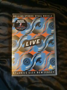 ROLLING STONES - Steel Wheels Live Atlantic City New and sealed