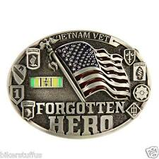 Vietnam Vet Forgotten Hero Buckle
