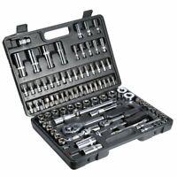 Cle à Cliquet Mallette à outils 94 Acier Vanadium Coffret de réparation