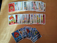 Lot de 135  trading cards Angry Birds