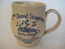 1999 2nd Annual Stoughton Coffee Break Prize Possessions Mug, 90/350