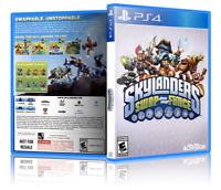 Skylanders: Swap Force - Replacement PS4 Cover and Case. NO GAME!!
