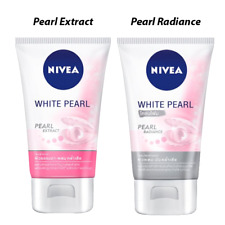 Set 100g Nivea White Pearl Extract Deep Cleansing+Pearl Radiance Mud Facial Foam