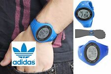 ADIDAS PERFORMANCE Adizero ADP6108 ALARM CHRONOGRAPH Sports WATCH in Blue, NIB