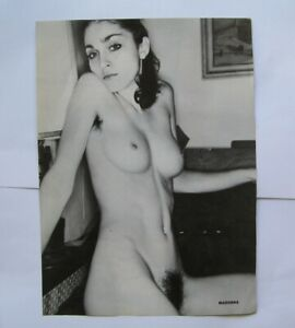 MADONNA & VANITY   POSTER  27cm X 19.5cm