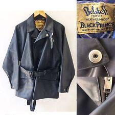 BELSTAFF BLACK PRINCE Giacca Tuta vulcanizzata MOTO VINTAGE 1950s