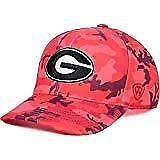 Georgia Bulldogs Mens Size M/L or L/XL Gulf Camo Baseball Cap Hat E1 362 363