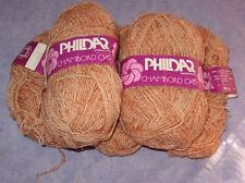 3+ Skeins Phildar Chambord Acrylic/Mohair/Wool Peach Color Total 8.6 ozs. Yarn
