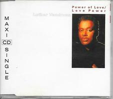 LUTHER VANDROSS - Power of love / love power CD SINGLE 3TR Europe 1991 (EPIC)