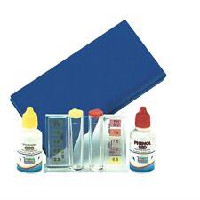 Test acqua piscina in gocce per cloro e pH