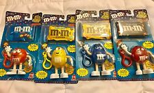 M&M's Collectibles 4 Piece Clip Alongs 2000 Brand New Never Opened