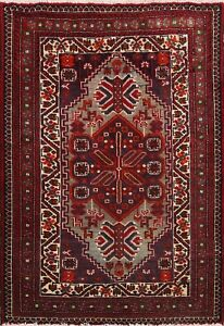 Excellent Tribal Traditional Geometric Area Rug Hand-knotted Oriental Carpet 2x3