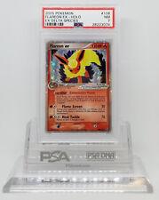 POKEMON EX DELTA SPECIES FLAREON EX 108/113 HOLO FOIL CARD PSA 7 NM #28223074
