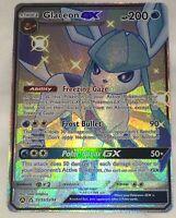 GLACEON GX Pokemon SV55/SV94 Shiny Vault Ultra Rare Hidden Fates UNPLAYED MINT