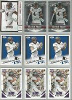 MyCole Pruitt Minnesota Vikings Southern Illinois 9 card 2015 RC lot-4 different