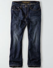 American Eagle Men's Classic Bootcut Jeans - Dark Wash - 44x32 - NWT