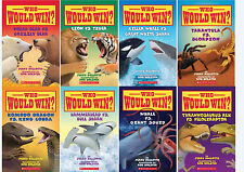 NEW!  WHO WOULD WIN Children's Series Books1-8 by Jerry Pallotta
