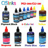 100ml PGI-280 CLI-281 Refill Ink Bottles XL for Canon PIXMA TS9120 TS8120 TS8220