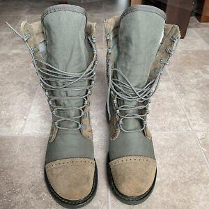 Corcoran 87257 Marauder Military Boots, Green Tan Sizes: Women's 8.5 / Men's 6.5