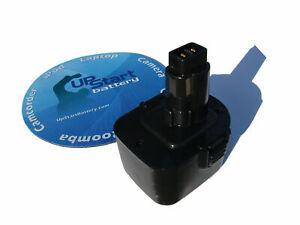 Battery works with DeWalt DW972 DW965 DC845KA DW979K-2 DW927K-2 12V 2Ah