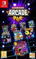 NAMCO MUSEUM ARCADE PAC (Inc Pacman Galaga) For Nintendo Switch (New & Sealed)
