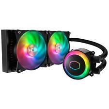 COOLERMASTER Dissipatore CPU MasterLiquid ML240R RGB per Intel e AMD