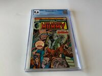 SUPERNATURAL THRILLERS 15 CGC 9.6 WHITE PAGES LIVING MUMMY MARVEL COMICS 1975