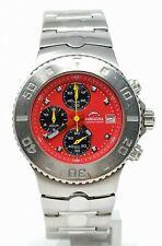Orologio Bulova barracuda cronograph watch rare clock stainless steel horloge