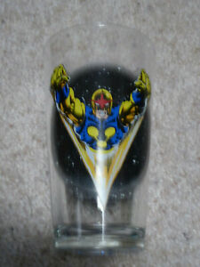 The Man Called NOVA Toon Tumblers Pint Glass (2007) Marvel Comics
