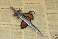 Cosplay WOW Nerzul Frostmourne Sword hot Arthas Lich King Game Metal Keychain