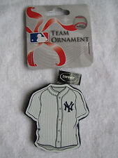 RARE NY NEW YORK YANKEES HOME JERSEY ORNAMENT CHRISTMAS TREE HOLIDAY GIFT