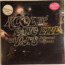 Kool and the Gang Live at P.J's vinyl LP 1971 NM vinyl Promo Funk Jazz Soul Rare