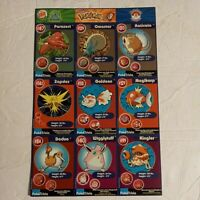 1999 Burger King promo Pokemon the first movie uncut cards 1-20 collection NM