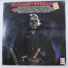 Bernard Herrmann Conducts Psycho, Vertigo, Sinbad & More, 1978 VINYL, NEW~!!