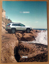 2015 Jeep Cherokee 48-page Original Sales Brochure Catalog + Buyer's Guide NEW