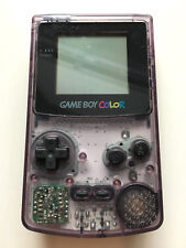 Nintendo GameBoy Color Konsole Handheld clear transparent lila violett #16