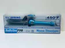 BaBylissPRO Nano Titanium Spring Curling Iron 1.25 inch
