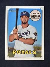 2018 Topps Heritage Base #680 Cheslor Cuthbert - Kansas City Royals
