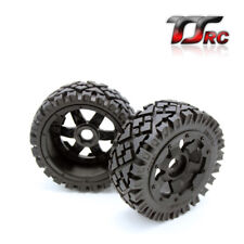 Front All Terrain wheels tire set Fit 1/5 HPI Baja 5B