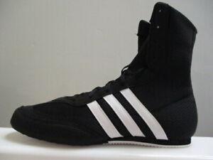 adidas Box Hog 2 Men's Boxing Boots UK 9 US 9.5 EUR 43.1/3 REF 6146^ R
