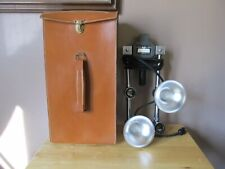 Vintage MAYFAIR Mini/Versal  FLEXMASTER Adjustable Lighting for Movies~w/Case